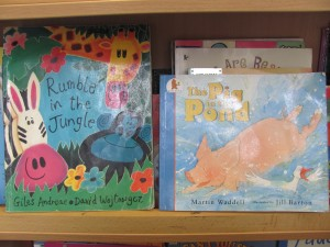 "The infants have been learning all about animals recently. We read these two stories. We thought the ""Pig in the pond"" was very funny. We also learned the nursery rhyme ""The 3 little kittens""."