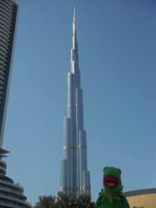 The Burj Khalifa is the tallest building in the world.