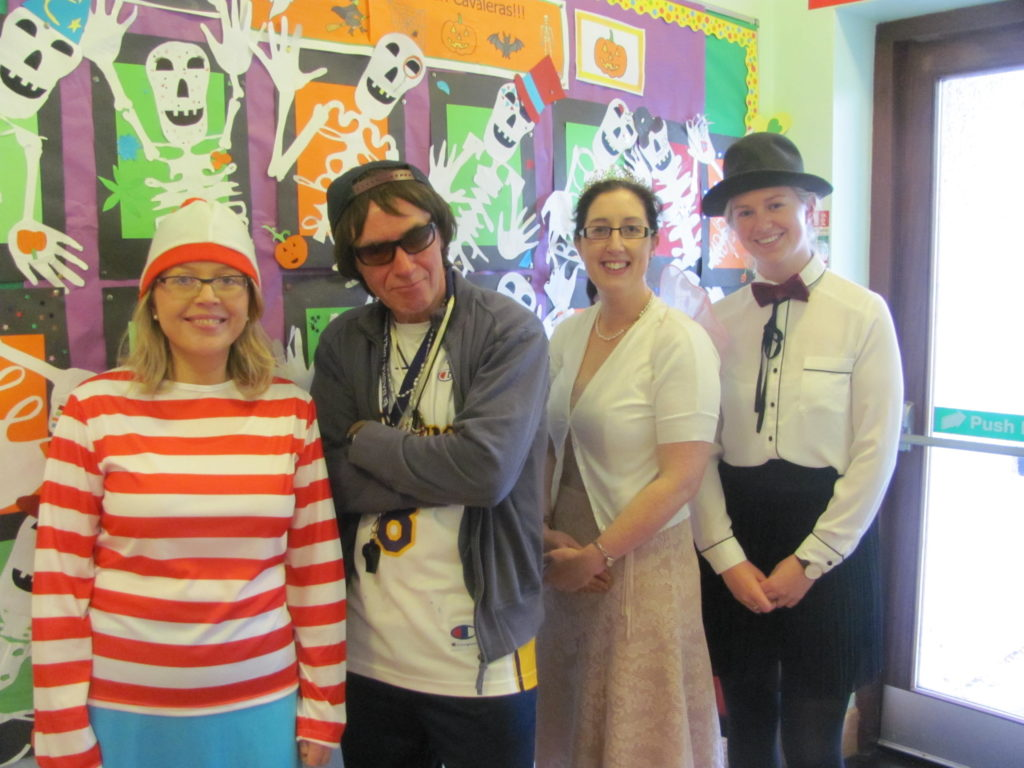 Thank you to everyone for dressing up to make Trick or Treat a brilliant success again this year. There were some very spooky characters in school. We raised €195.10.