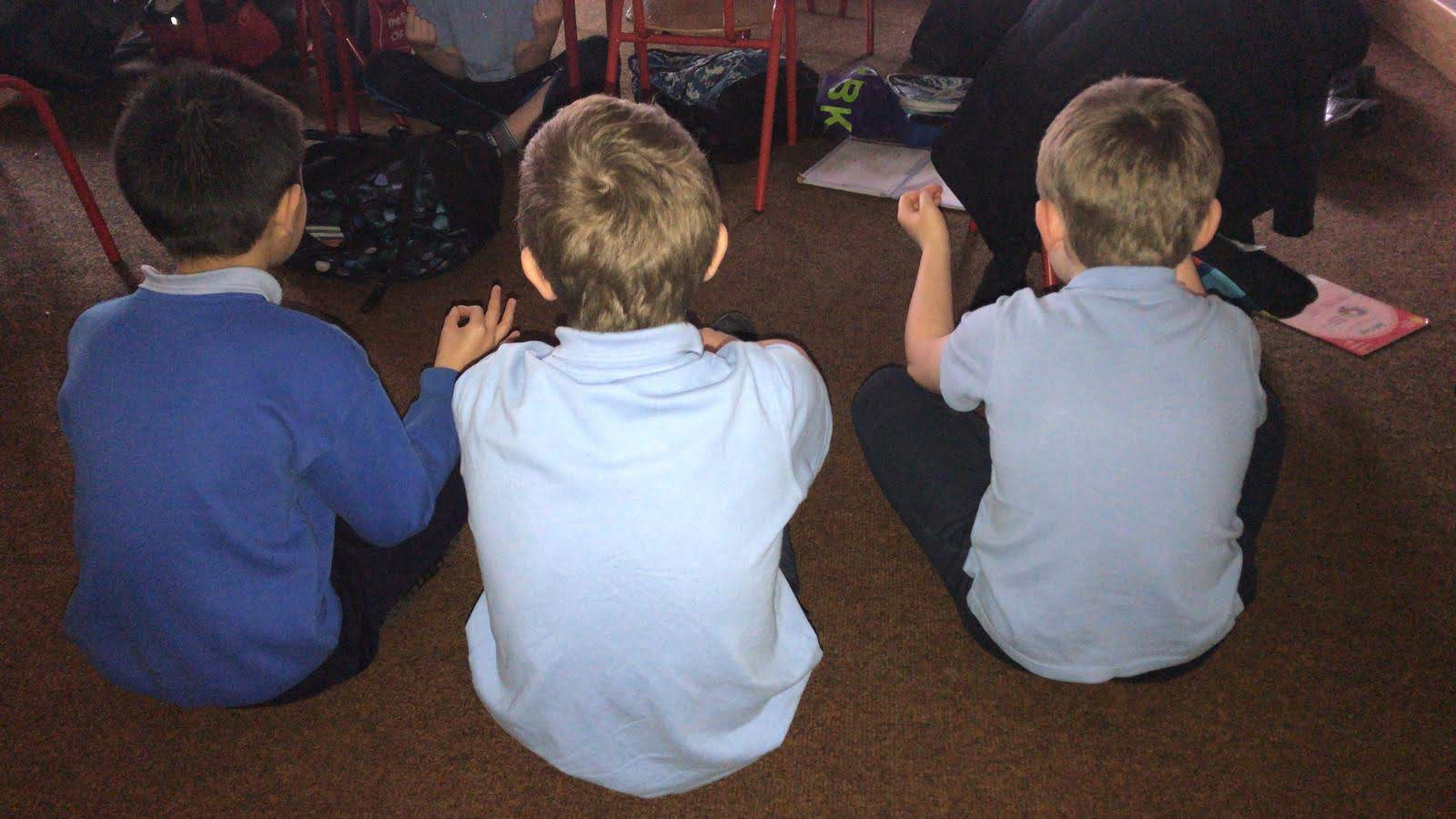 MINDFULNESS - the children look forward to Mindfulness and PURE relaxation every Friday