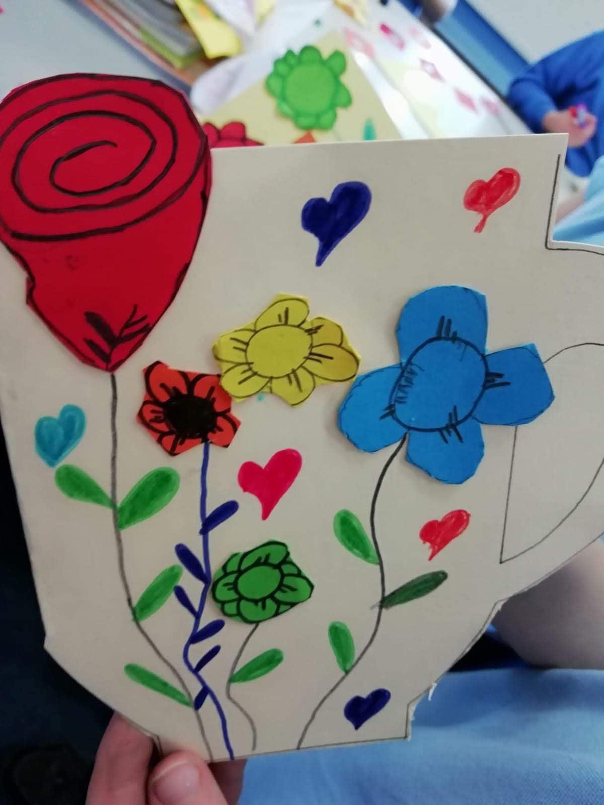 3rd & 4th Class produced wonderful Mother's Day Cards under the guidance of Mrs. Crowe